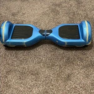 Used blue Hoverboard